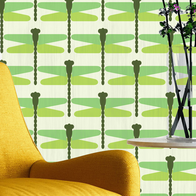 papier-peint-libellule-vert-green-ma-french-tapisserie-made-in-france-francais-incrustation-zoom